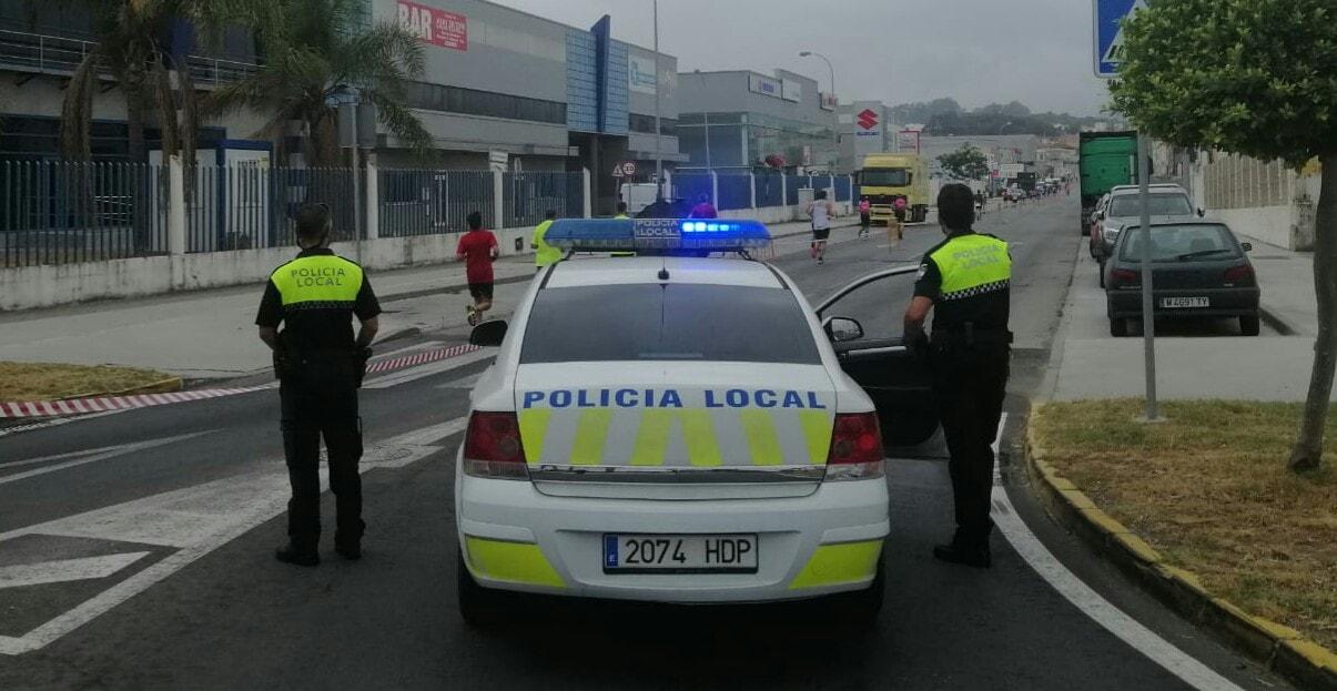 LIBERTAD PROVISIONAL PARA EL INDIVIDUO QUE GOLPEÓ UN COCHE PATRULLA Y AGREDIÓ A AGENTES DE LA POLICÍA LOCAL