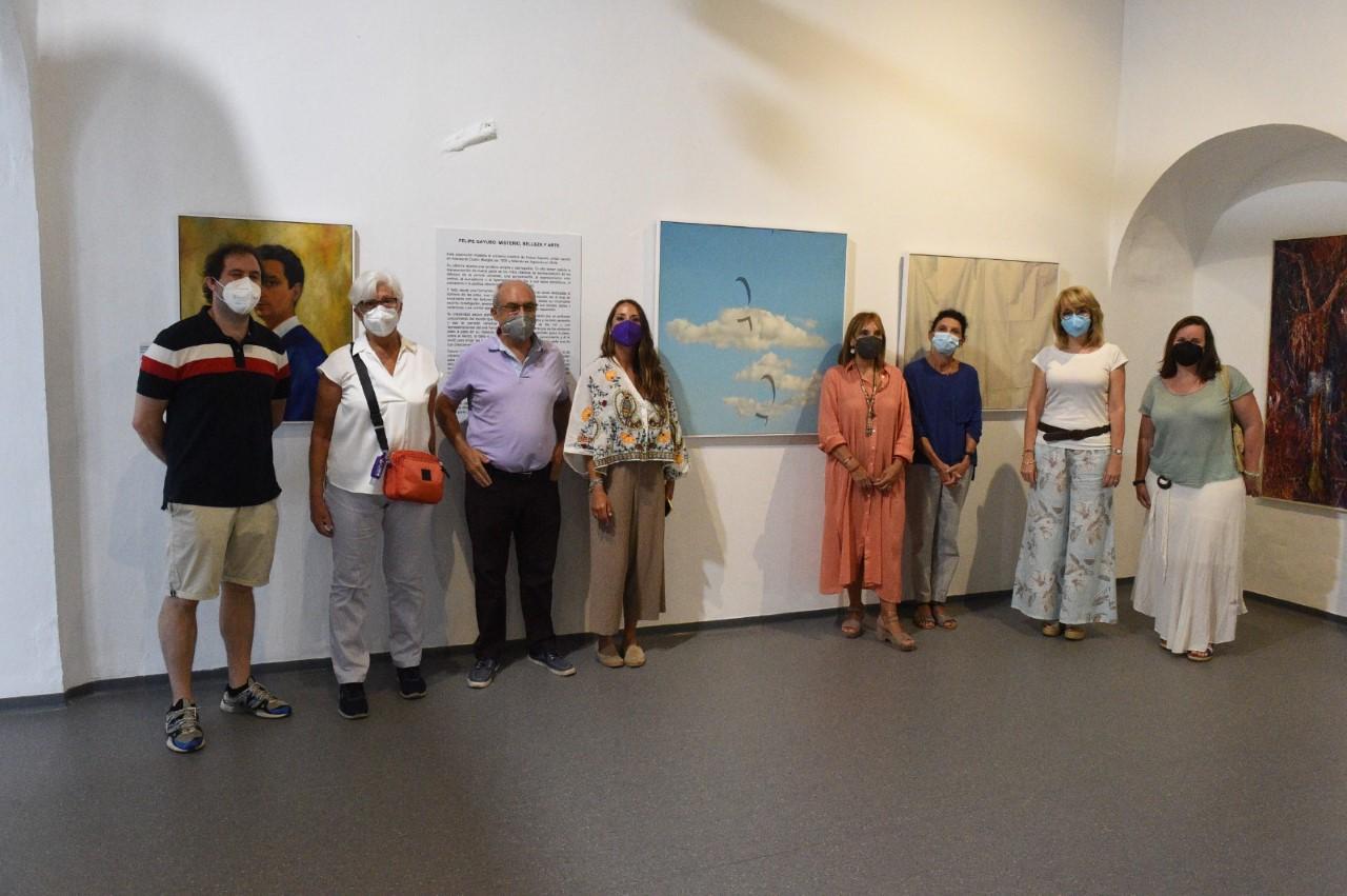 INAUGURADA EN EL MUSEO MUNICIPAL LA EXPOSICIÓN DE FELIPE GAYUBO