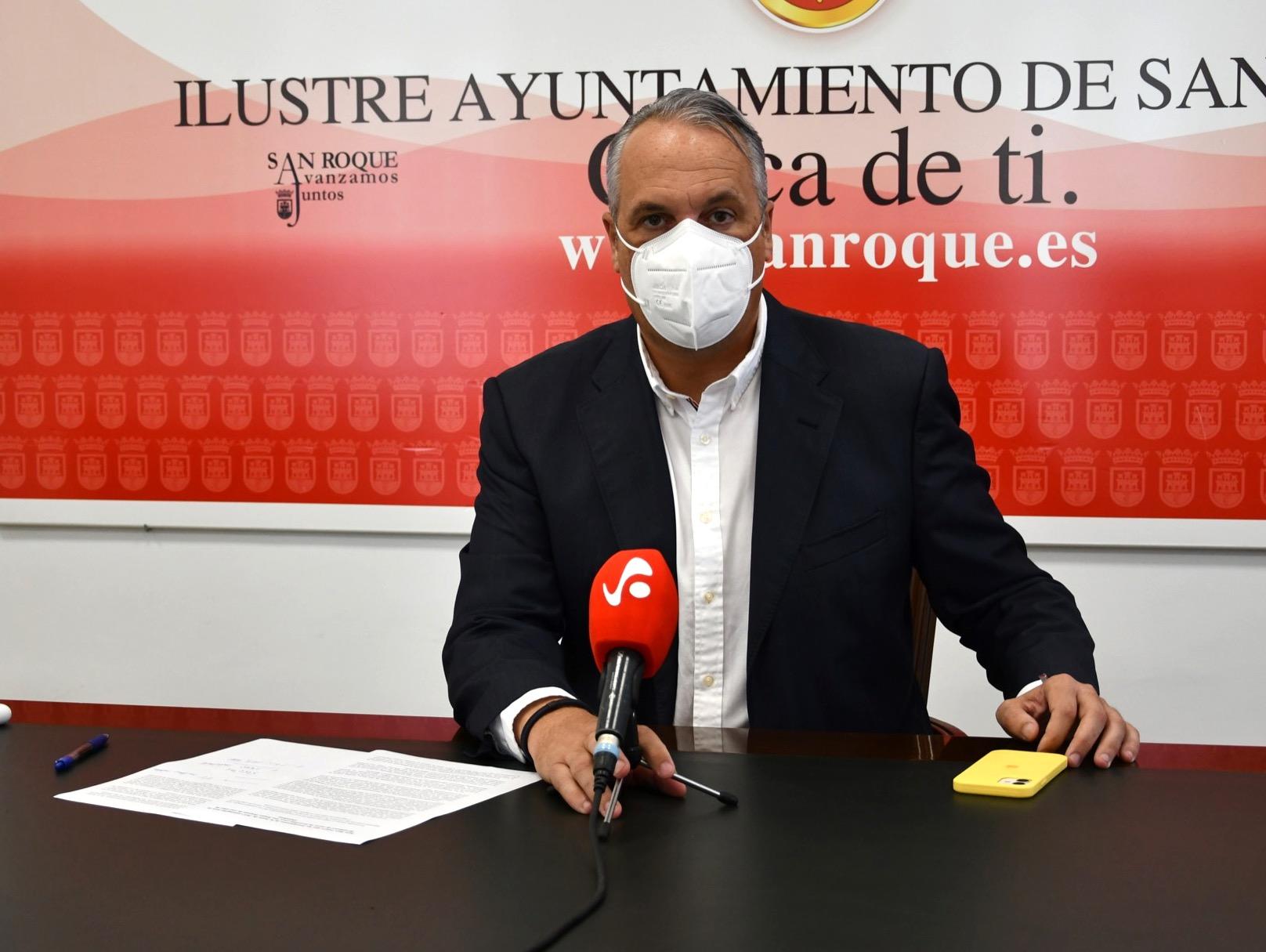 RUIZ BOIX EXIGE A LA JUNTA QUE INCLUYA AL MENOS 80 MILLONES PARA INVERSIONES EN SAN ROQUE  EN SUS PRESUPUESTOS